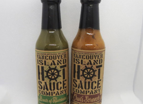 Vancouver Island Hot Sauces (148mL)
