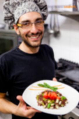 lo chef del vegetariano e vegano