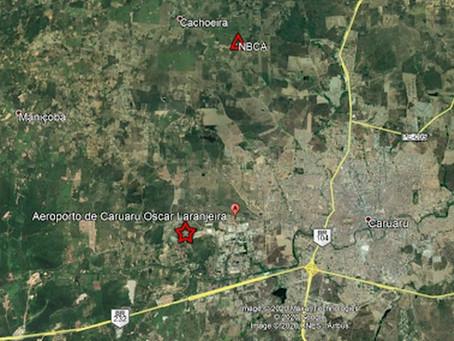 Mais de 10 tremores de terra são registrados em menos de 24 horas em Caruaru