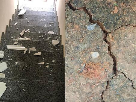 Tremeu foi tudo: terremoto histórico na Bahia abalou casas, pessoas e a fé delas