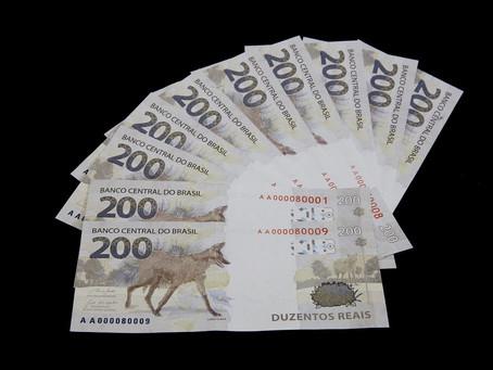 Associação de cegos critica nota de R$ 200 por causa do tamanho igual ao da cédula de R$ 20