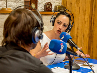 Entrevista en radio 4G