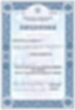 фармацевтическая лицензия образец