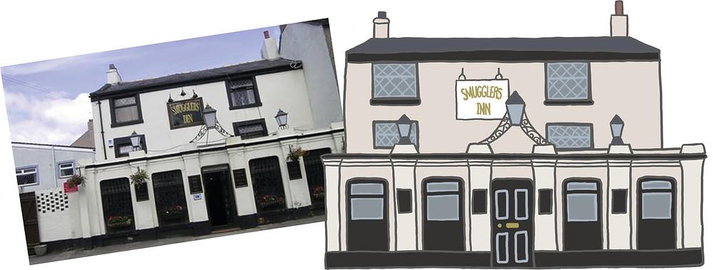 Morecambe Pub Illustrated by Felltarn