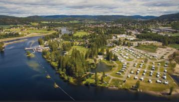 Først ut i Norge er Telemark kanal camping!