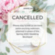 2020 Wedding Boutique_Social Media_Cance