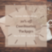 20% off Wedding Coordinating Packages (1
