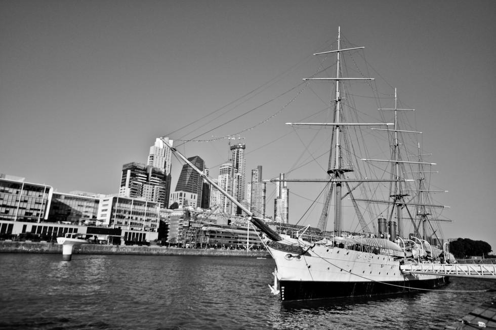 Ship Museum President Sarmiento