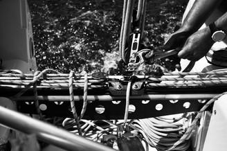 Sailing at Ponta das Canas