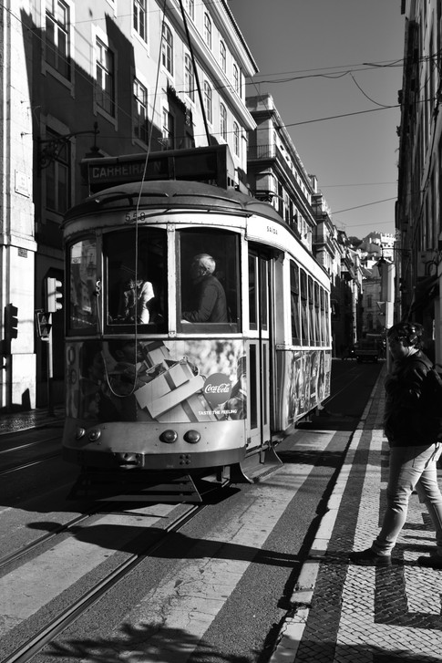 Lisbon's iconic electric trams