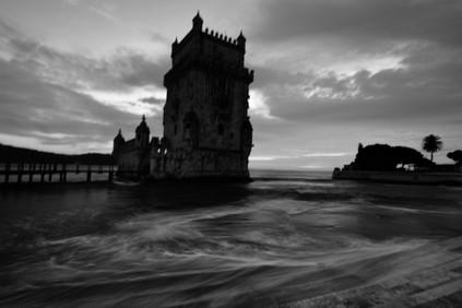 sea mist at Belém Tower