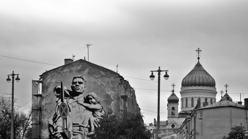 Soviet Union graffitti