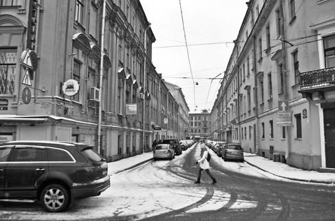 Frosty streets