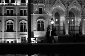 Silhouettes at Kossuth Square