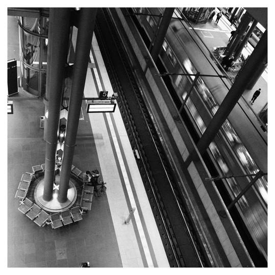 Station Hauptbahnhof Central Station