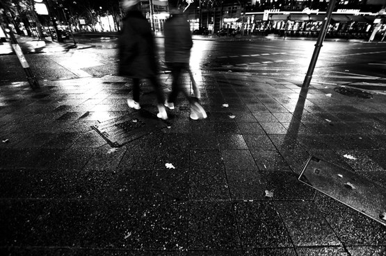 Berlin wet streets