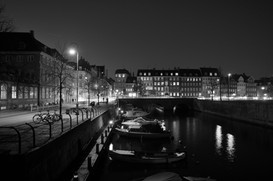 Beautiful canals of Copenhagen