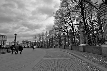 St Petersburgo streets