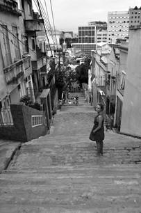 Stair Jorge Selarón mosaic steps