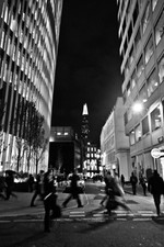 The Shard and busy streets