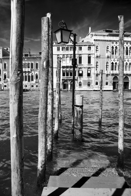 At the edge of Grand Canal