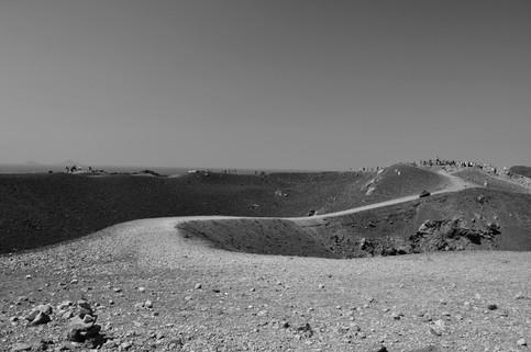 View from vulcan Nea Kameni