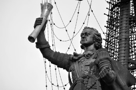 Detail Peter the Great Statue