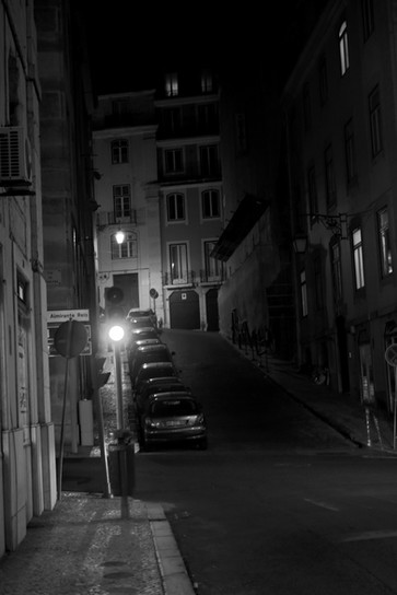 Old town late night