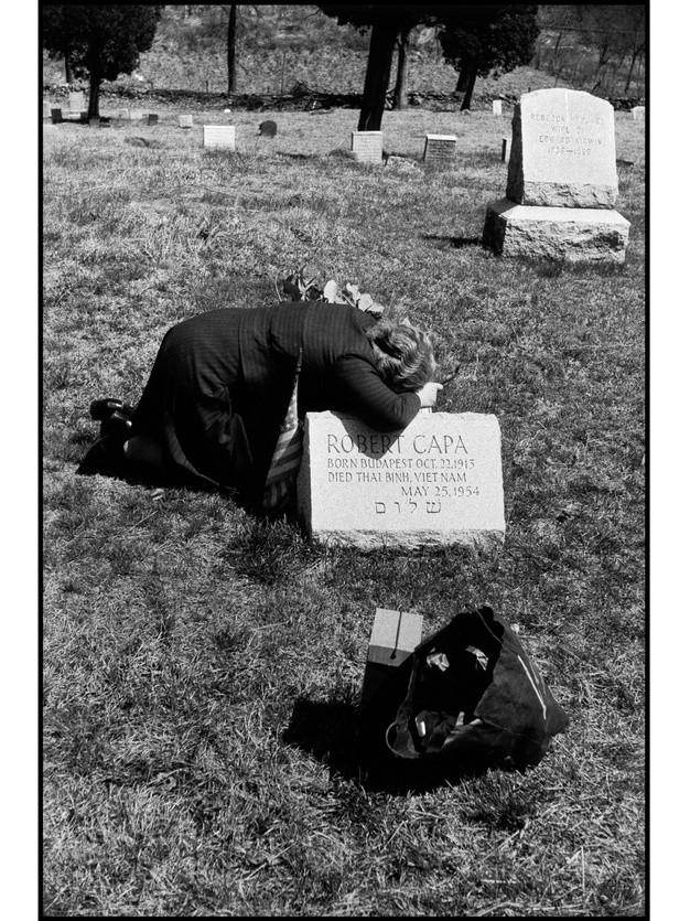 Capa's mother, New York, 1954