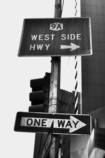 NYC signs