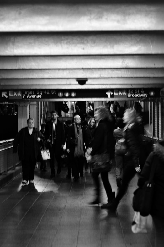 Brodway/Times Square metro