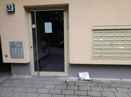 Eingang zur Walter-Friedrich-Str. 52 in Berlin-Buch