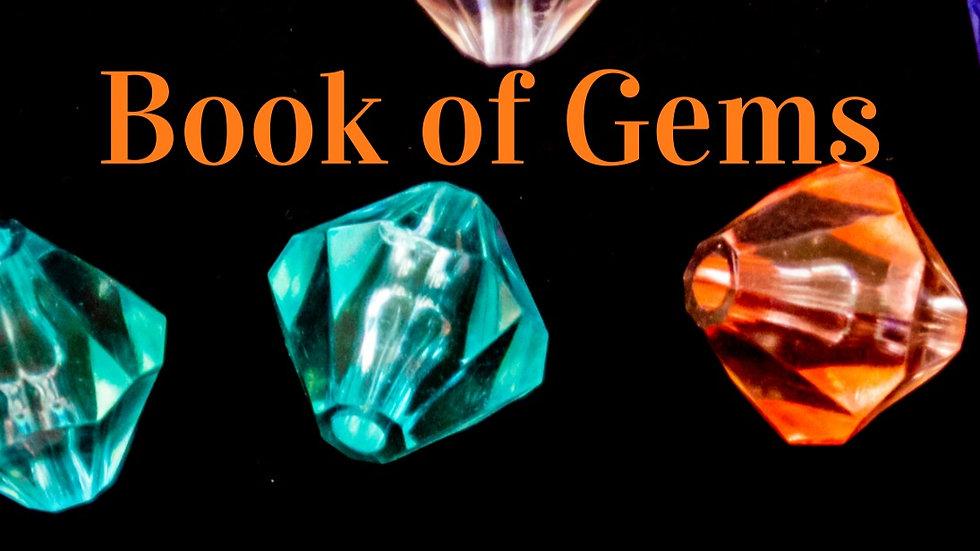 Book of Gems - Journal