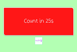 count in 25s
