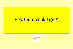 Year 3 Multiplication and Division Related calculations
