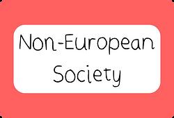 Non-European Society