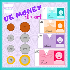 UK British English money clip art