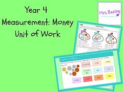 Year 4 Measurement: Money Unit of Work
