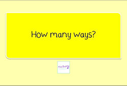 Year 3 Multiplication and Division correspondence problems how manyways