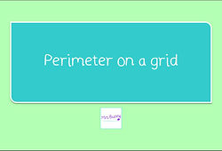 Year 4 Measurement perimeter on a grid