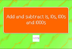 Y4 Addition and Subtraction Lesson 1