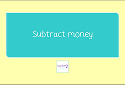 subtract money