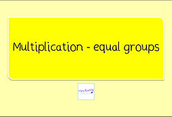 Year 3 Multiplication and Division equal groups