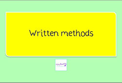 Year 4 Multiplication and Division Writen methods