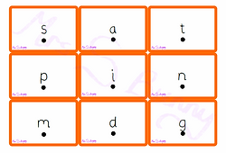 Phase 2 graphemes (with sound buttons) flash cards