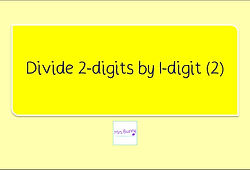 Year 3 Multiplication and Division Divide 2-digits by 1-digit (2) with remainder / exchanging