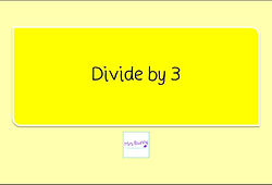 Year 3 Multiplication and Division divide by 3