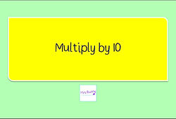 Year 4 Multiplication and Division multiply by 10