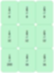 Non-unit fractions of amounts - quarters
