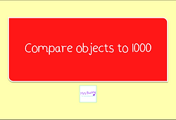 compare objects to 1000